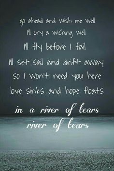 River of Tears -Alessia Cara this is my second most favorite song by her, the first being 'Here'