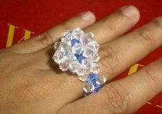 Lots of Free Jewelry Making Tutorials & Lessons: Beading Projects: Beaded Rings