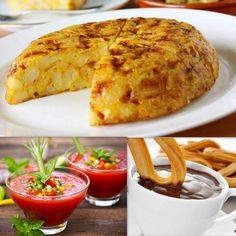 Have a look at some street delicacies of Spain ->
