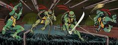 teenage mutant ninja turtle comics   Original Teenage Mutant Ninja Turtles return to comics - ComicList