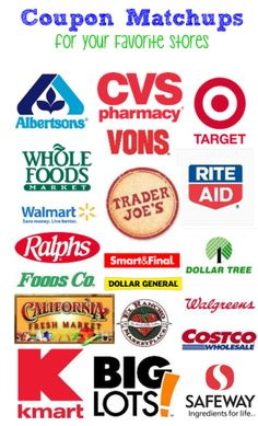Save at your favorite local stores with Coupon Matchups! Pair coupons with the best sales of the and save TONS!