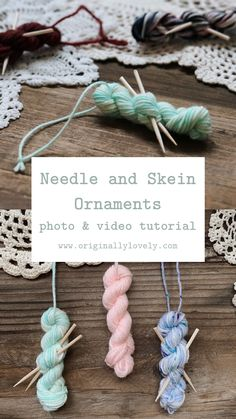 Christmas visits the same This Wed morning baby! Knit Christmas Ornaments, Christmas Sewing, Christmas Knitting, Christmas Projects, Holiday Crafts, Christmas Crafts, Knitted Christmas Decorations, Knitting Blogs, Knitting Patterns Free