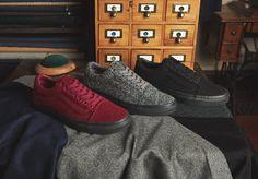 """size? X Vans Old Skool """"Wool"""" pack #vansshoes #vanshead #vans #oldskool #vansoldskool #vanscollabs #size?"""