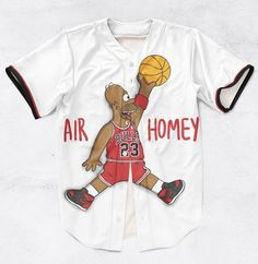Air Homey 3D Sublimation Print Jersey