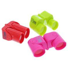 Museum souvenir fold-up binoculars - various colours