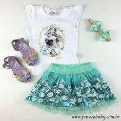 Bom dia Mamães, que tal acessar nossa loja virtual e comprar um Look fofo para sua Baby, arrasar em 2015!   Corre para nossa loja virtual www.purezababy.com.br