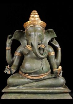 """LOUNGING STATUES OF ganesha 