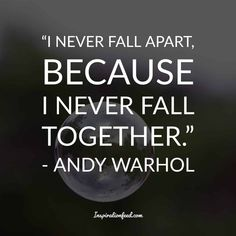 35 Unforgettable Andy Warhol Quotes and Philosophy In Life Andy Warhol Quotes, Badass Quotes, Falling Apart, Philosophy, Pop Art, Writing, Words, Google Search, Life