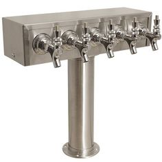 TapRite 5 Faucet Stainless Steel Air Cooled  T  Draft Tower