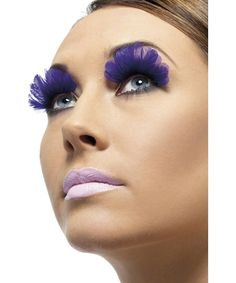 I'd try it if I was bored. Okay, I'd actually try it. purple eyelash