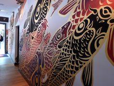 Hideki Kimura mural painting