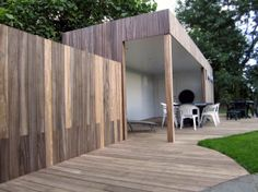 Tuin met hout on pinterest decking tuin and decks - Terras hout ...
