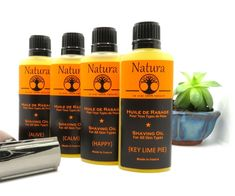Shaving oil for Men and Women - Natura - Pre-shave Oil for all Skin Types, All Natural Shaving Oil Beard Gifts, Oils For Men, Pre Shave, Shaving Oil, Handmade Gift Tags, Flower Oil, Castor Oil, Vegan Friendly, Travel Size Products