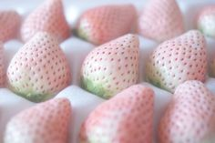 Pastel pink strawberries #Luxurydotcom