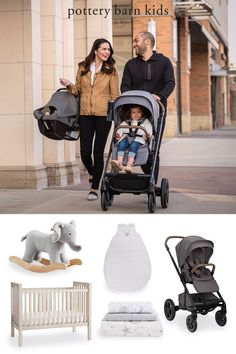 We've taken the guesswork out of getting ready for a baby. Shop these must-have registry items! Baby Registry Items, Baby Safe, Pottery Barn Kids, Baby Gear, Baby Strollers, Nursery, Children, Baby Prams, Young Children
