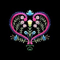 polish10 - Floral Embroidery Design - Click Image to Close