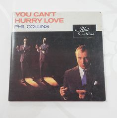 Phil Collins You Can t Hurry Love 3 Track Three Inch Mini CD Card Sleeve