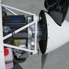 The simple electric motor is significantly quieter than fossil fuel-powered engines, meaning the plane can fly...