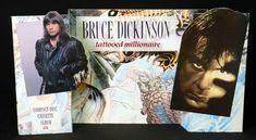 Bruce Dickinson Tattooed Millionaire display UK BRDDITA633306