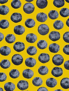 Blueberry pattern by Georgiana Paraschiv