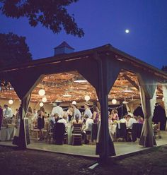 Formal Barn Party - Outdoor pavilion