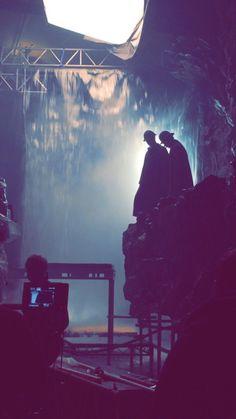Behind the scenes. SHERLOCK. The Abominable Bride.