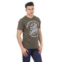 Green S Diesel mens t-shirt T-BALDER 00SC50 0091B 51F