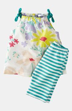 Mini Boden Print Top & Leggings (Infant) | Nordstrom