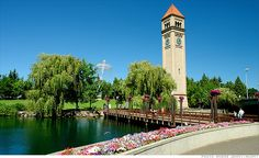 2013: Spokane, Washington has become a destination for retirees because of its 260 days of sunshine a year and a growing number of galleries and restaurants downtown.