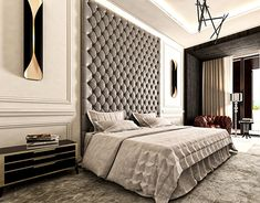 home decor bedroom wall decor Master Bedroom Interior, Luxury Bedroom Design, Master Bedroom Design, Luxury Home Decor, Home Decor Bedroom, Bedroom Furniture, Bedroom Sets, Interior Livingroom, Bedroom Modern
