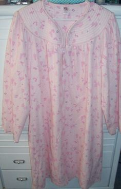 Womens Plus 2X 3 X Pink Mauve Winter Quilted Zip Up Duster Robe Housecoat 04f61e61e