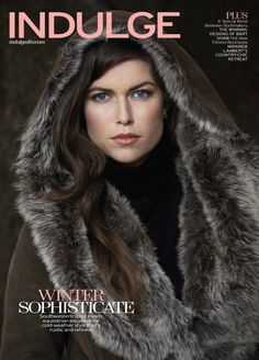 Overland's Felicia Sheepskin Coat is featured on the cover and in the style section of Fort Worth's Indulge magazine!