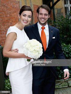 Civil Wedding Of Prince Felix Of Luxembourg & Claire Lademacher Civil Wedding, Wedding Bride, Wedding Ceremony, Wedding Dresses, Royal Brides, Royal Weddings, Prince Felix, Claire, Wedding Styles