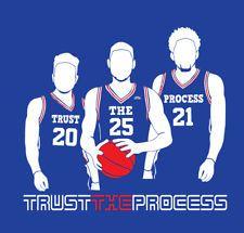 79ffe11635d Jimmy Butler NBA traded to 76ers. See more. Trust The Process Trio shirt  Philadelphia 76ers Joel Embiid Ben Simmons Fultz Ben Simmons