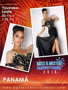 MISS PANAMÁ PACIFICO Y CARIBE 2016 - YOVINSKA LESLIE