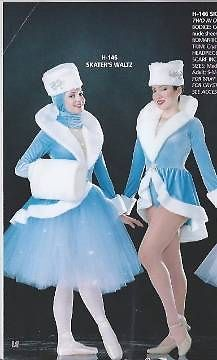 """NEW! ART STONE """"SKATER'S WALTZ"""" dance ice skating HOLIDAY COSTUME ~ SMALL ADULT"""