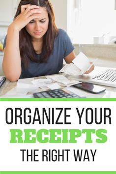 Are you drowning in receipts? In this post I'll walk you through how to declutter your receipts and how to organize what's left. #receiptorganization Receipt Organization, Home Organization Hacks, Declutter Your Home, Organizing Your Home, Getting Rid Of Clutter, How To Get Rid