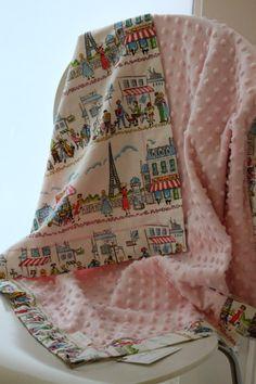 Snuggle Blanket by LukaMish - Parisville