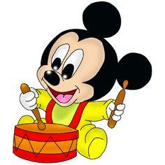 Disney Babies Clip Art | Baby Mickey Mouse - Disney And Cartoon ...