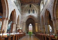 St Mary's Church. Stafford