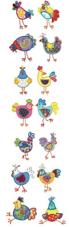 i love funky chickens by belen balsera