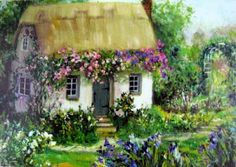 A SCRAPBOOK OF INSPIRATION: A Cottage by the sea