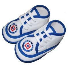 Baby Shoes | Cruz Azul baby shoes | La Chilenita