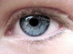 Example of Cool Summer - soft blue eyes, with pink skin surrounding them