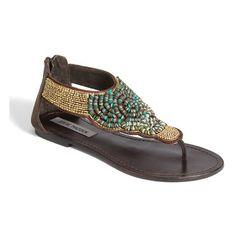 Steve Madden 'Pharroh' Sandal ($50) ❤ liked on Polyvore