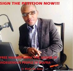 Welcome To Emmanuel Ik blog: FREE NNAMDI KANU, THE LEADER OF INDEGENOUS PEOPLE ...