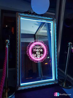 Ayez un avant-goût de ce que vous réserve le Miroir Magic Photobooth