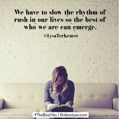 """Are you constantly rushing? In all of our rushing, I fear we are missing out big time. Missing out on the moments God intends for us to delight in and learn from. Join me as I share a few things I know I have missed out on from living a life of """"rush"""" and why we need to slow down today."""