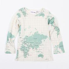 Map shirt!