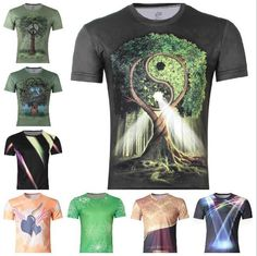 Find More T-Shirts Information about 2014 Men's 3D Creative T Shirt,Tai chi tree/violin/light 3d printed short sleeve T Shirt A14,S 6XL,Free Shipping ,High Quality shirt floral,China shirts 2t Suppliers, Cheap shirt baby from Brand Fashion 3D Clothing Store on Aliexpress.com